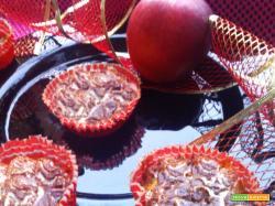 Tortine di mele e cannella alla panna