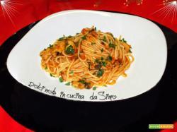 Spaghetti al sugo di cozze