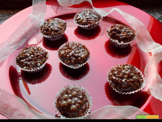 Dolcetti mandorlati al cioccolato
