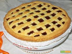 Crostata alla marmellata di ciliegie