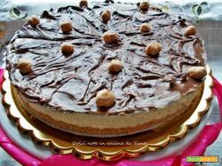 Cheesecake al mascarpone e crema nocciolata