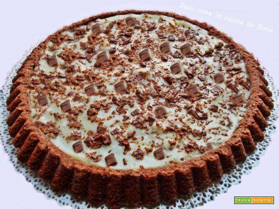 Crostata al cioccolato con crema al latte
