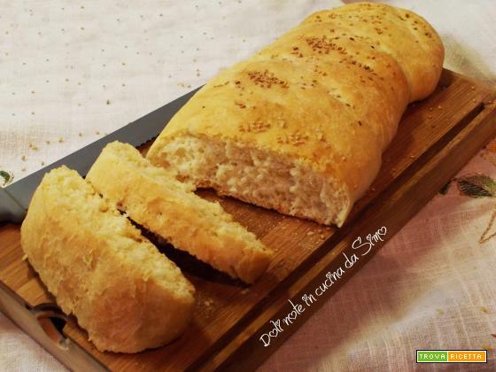 Trecce di pane all'olio
