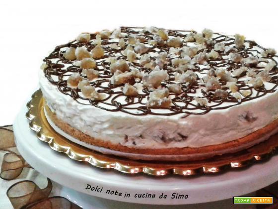 Cheesecake ai Marrons Glaces
