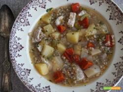 Zupa Rybna, zuppa polacca di carpa (ricetta parve)