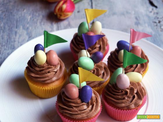 Cupcakes di Pasqua - Un segnaposto che si mangia :)