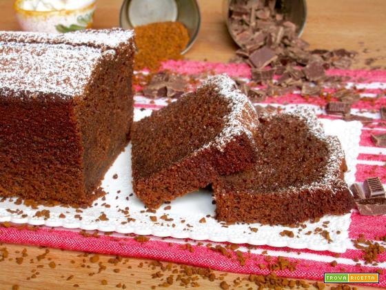 Plumcake al Caffè, Cioccolato e Ricotta