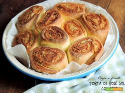 Torta di rose salata col Bimby