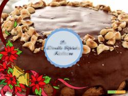 Torta con glassa al cioccolato