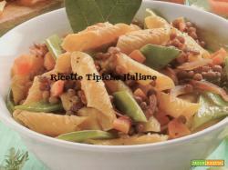 Garganelli con lenticchie