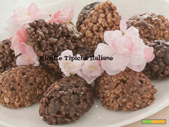 Uova di cioccolato croccanti