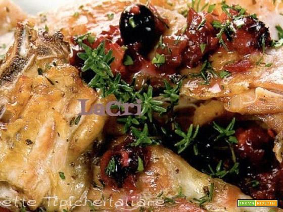 Carre arrosto in salsa di bosco