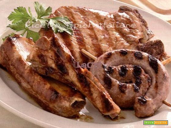 Grigliata di carni miste al forno