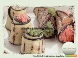 Involtini di melanzane e zucchine