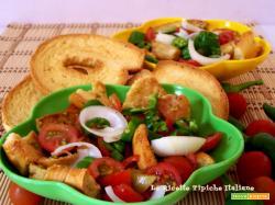 Friselle con dadolata di pomodori