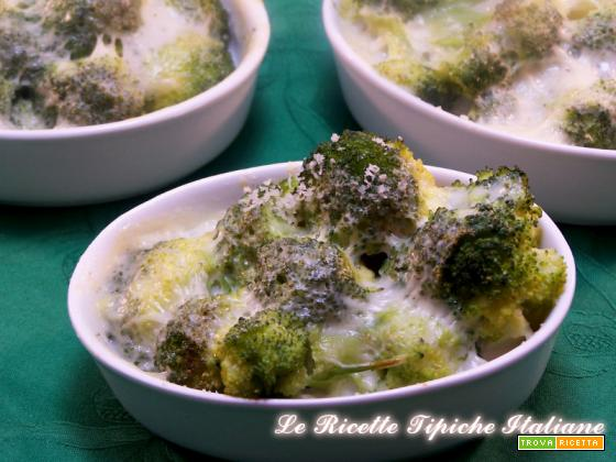 Broccoli siciliani gratinati