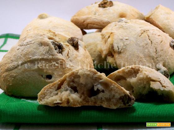 Panini alle olive con lievito madre