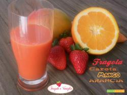 Succo di Fragola Carota Mango Arancia