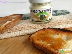 Crostone goloso con burro tartufato