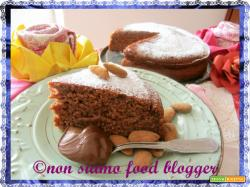 Torta soffice yogurt e nutella (senza burro, uova, olio e latte)