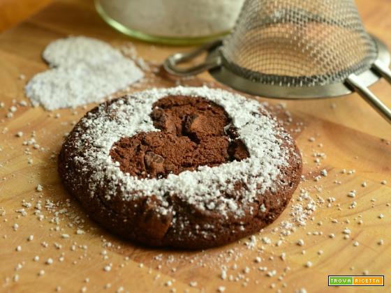 Biscotti con ripieno cremoso al cioccolato