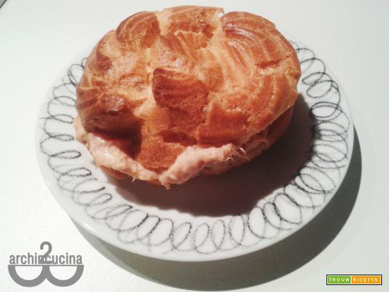 Zeppole al forno salate – Finger food sfizioso