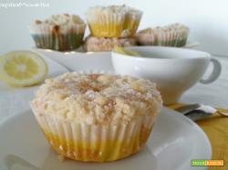 Lemon muffins al profumo di anice