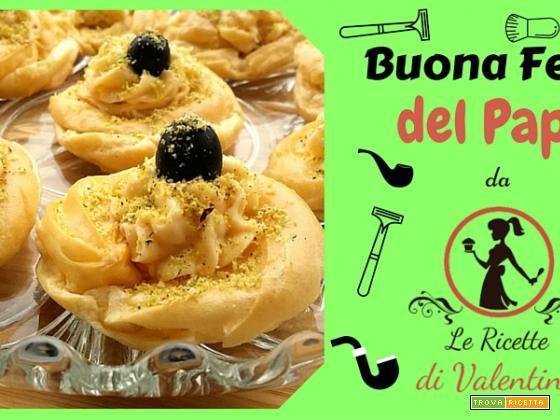 FESTA DEL PAPA': zeppole di San Giuseppe salate e cotte al forno (ricetta Bimby)
