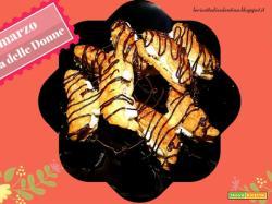 Festa delle Donne: Farfalle di sfoglia con crema al mascarpone
