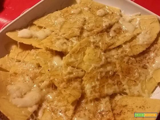 Triangoli di mais...da intingere nelle salse o da coprire di formaggio fuso