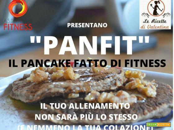 PANFIT: pancakes banane e farina integrale con miele e noci: secondo appuntamento per la colazione in collaborazione con A.s.d. fatti di fitness