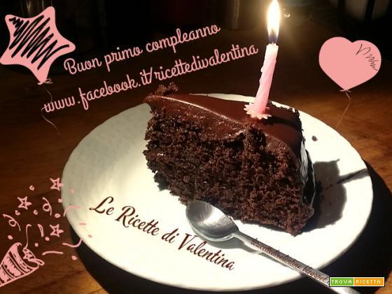 Torta di compleanno per la mia pagina facebook!