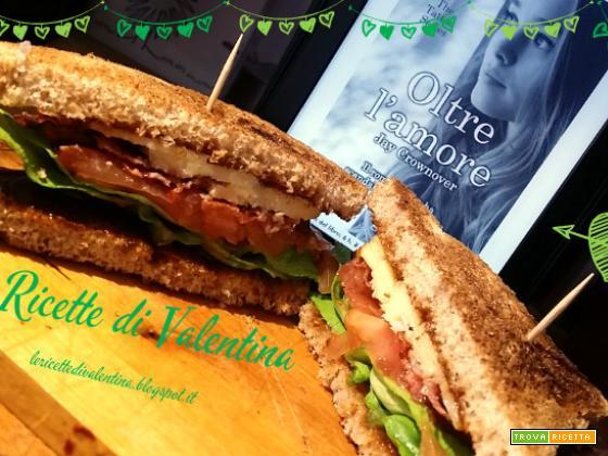 MANGIA CIO' CHE LEGGI # 54: Sandwich al bacon ispirato da Oltre l'amore di Jay Cronower