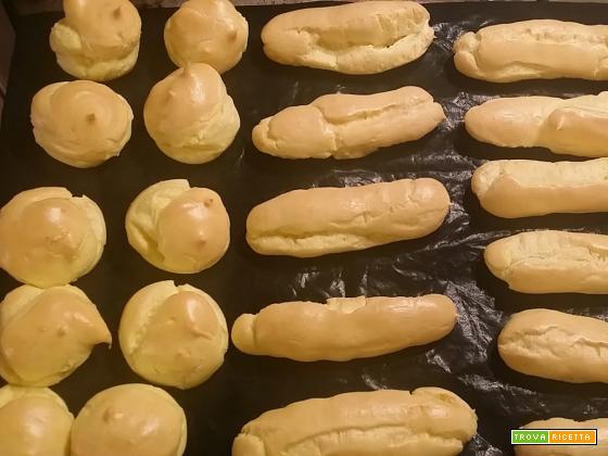 Pasta Choux con il Bimby per bignè ed Eclair fatti in casa...ricetta base