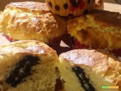 Muffin con ripieno a sorpresa...UN biscotto Oreo