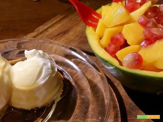 Insalata di mango e melograno