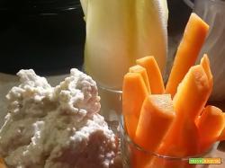 Crema di gorgonzola e noci per aperitivi o verdure