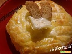 Camembert i crosta di sfoglia