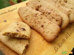 Biscotti simil Pavesini allo zucchero di canna integrale