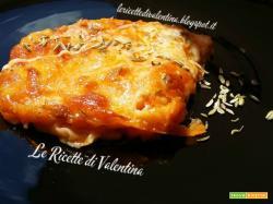 Lasagne di pane carasau al ragù di salsiccia profumato ai semi di finocchio (ricetta bimby)