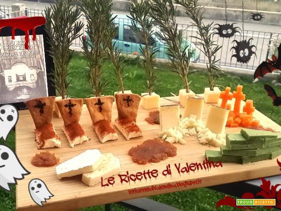 MANGIA CIO' CHE LEGGI # 52: Cheese-metery in onore di OSCURE REGIONI vol.1 di Luigi Musolino
