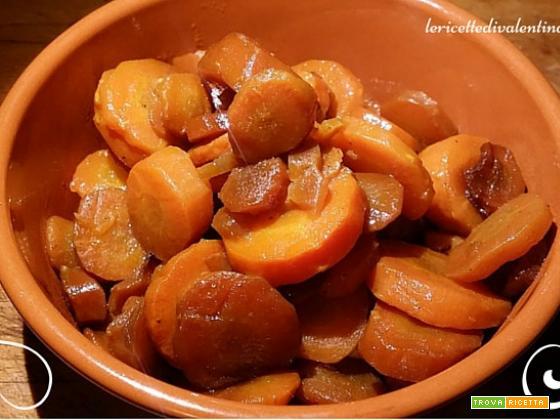 Carote caramellate nella slow cooker