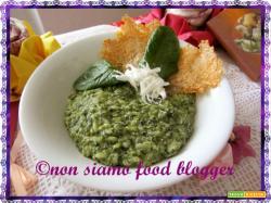 Risotto agli spinaci e ricotta salata