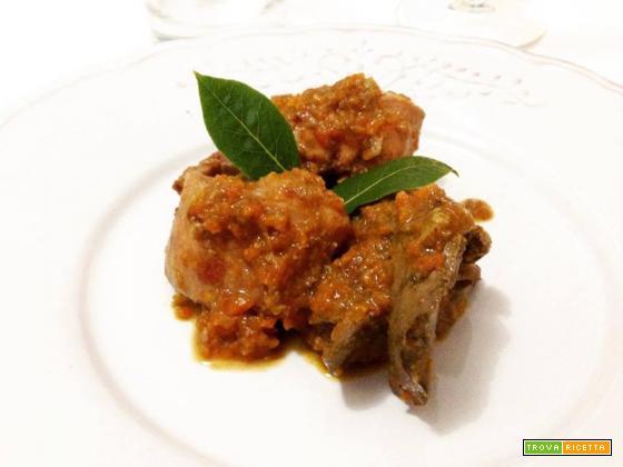 Coniglio al curry