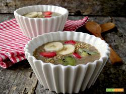 Super colazione maca e vaniglia