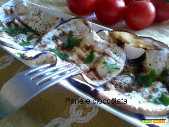 Melanzane grigliate- A dieta con gusto