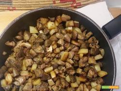Coratella con patate