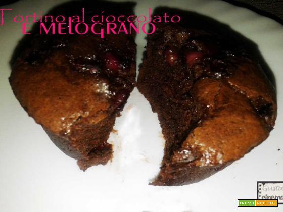 Tortino Cioccolato E Melograno
