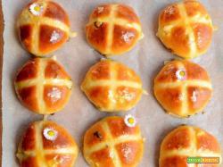 Hot cross buns (ricetta di Paul Hollywood)