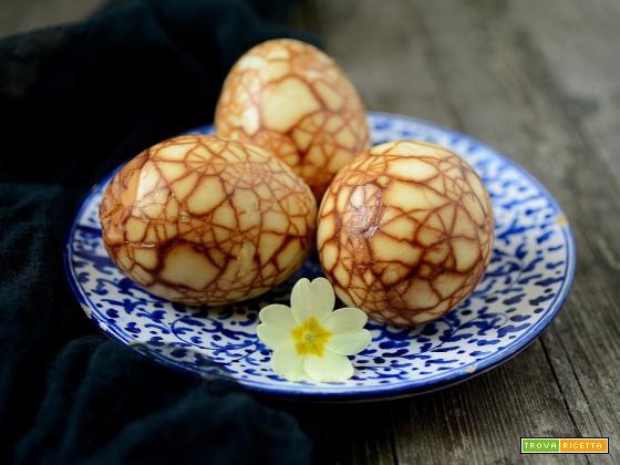 Uova al tè marmorizzate (Cha Ye Dan)